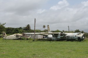 Cuban planes left during the invasion of '83